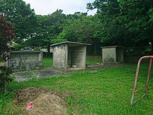 真栄平集落の拝所の写真