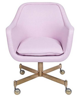 Light Pink Desk Chair
