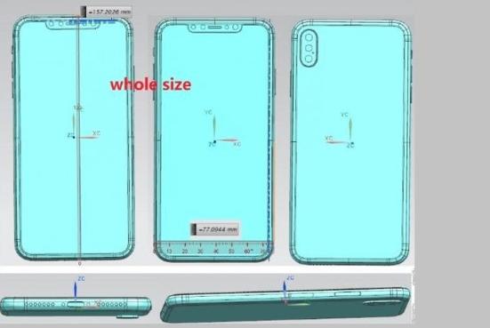 Bocoran Gambar iPhone X Versi Murah dan iPhone X Plus