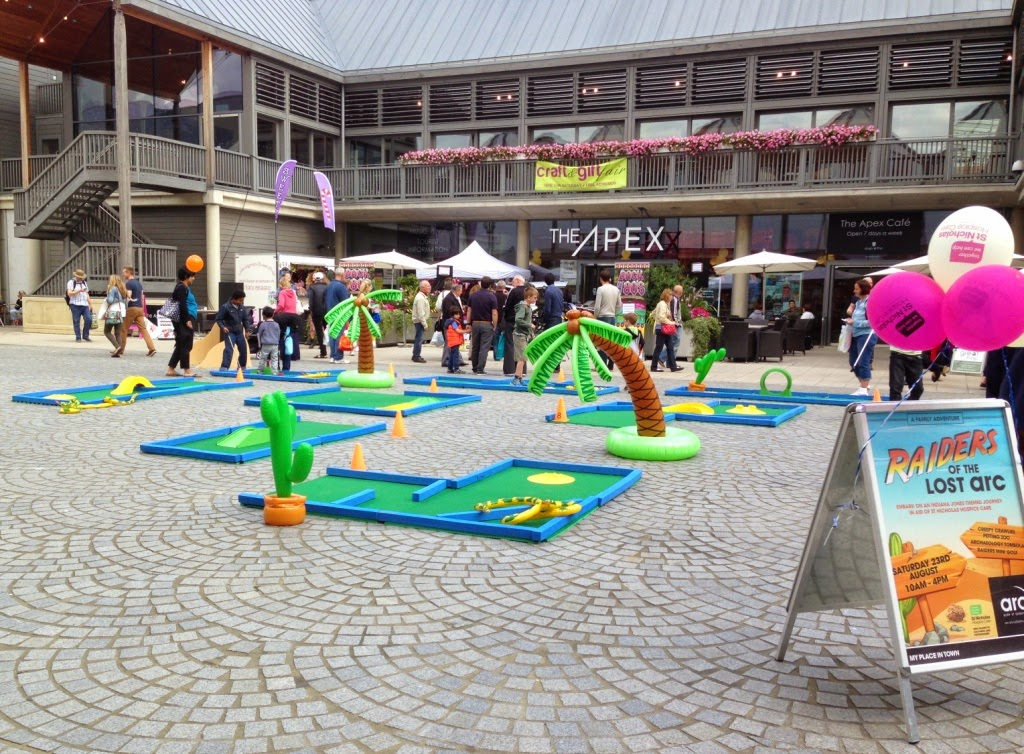 Putterfingers Crazy Golf in Bury St Edmunds