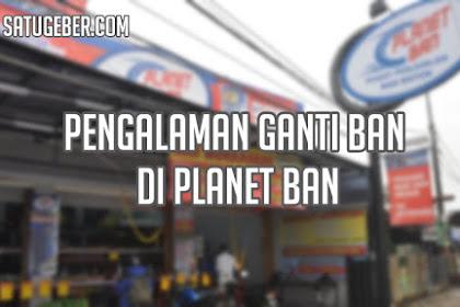 Pengalaman Ganti Ban Motor di Planet Ban