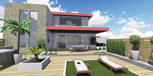 Progettare spazi verdi progettazione online giardini e - Composizione giardino ...