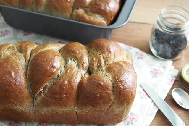 Black Sesame Seeds Bread