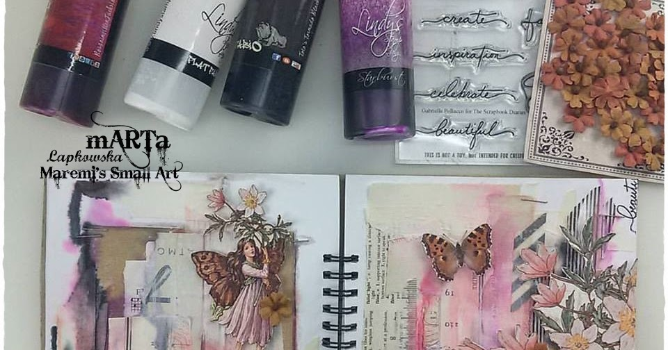 marta lapkowska  art journaling    mixed media for beginners