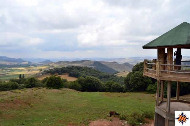 Punto panoramico nei pressi della Route des Cèdres