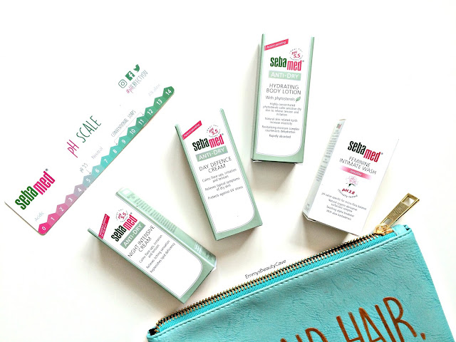 Sebamed Anti-Dry Skincare Range Review, PH Level in Skin