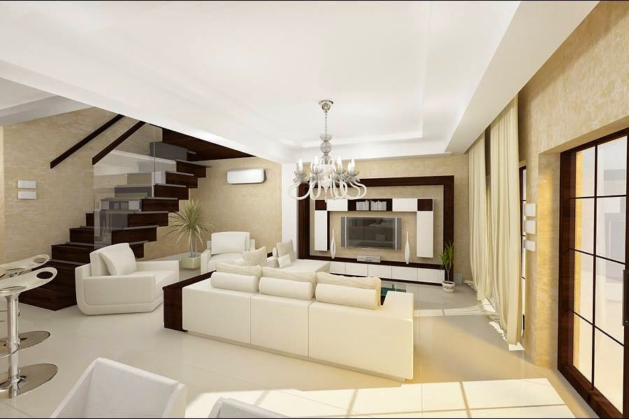 Design interior case stil contemporan for Casa interior design