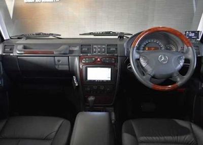 Interior Jip Mercy G-Class W463 G500