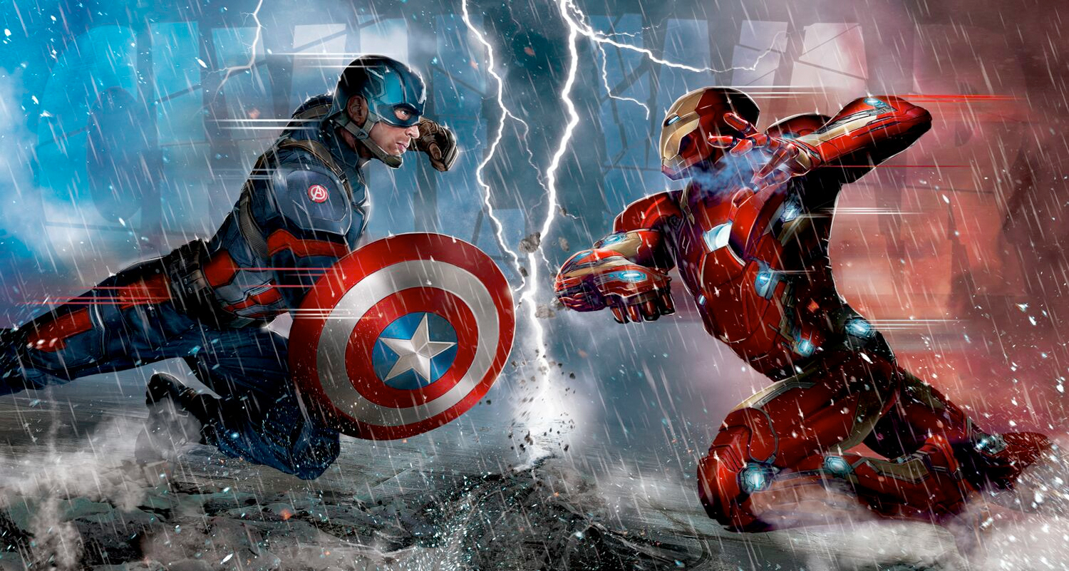 Postere Captain America Civil War - editie limitata - Ranevents - Cinema City - concurs