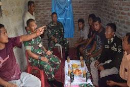 Satgas Opster Kalwedo Laksanakan Anjangsana ke Warga di Pulau Kisar