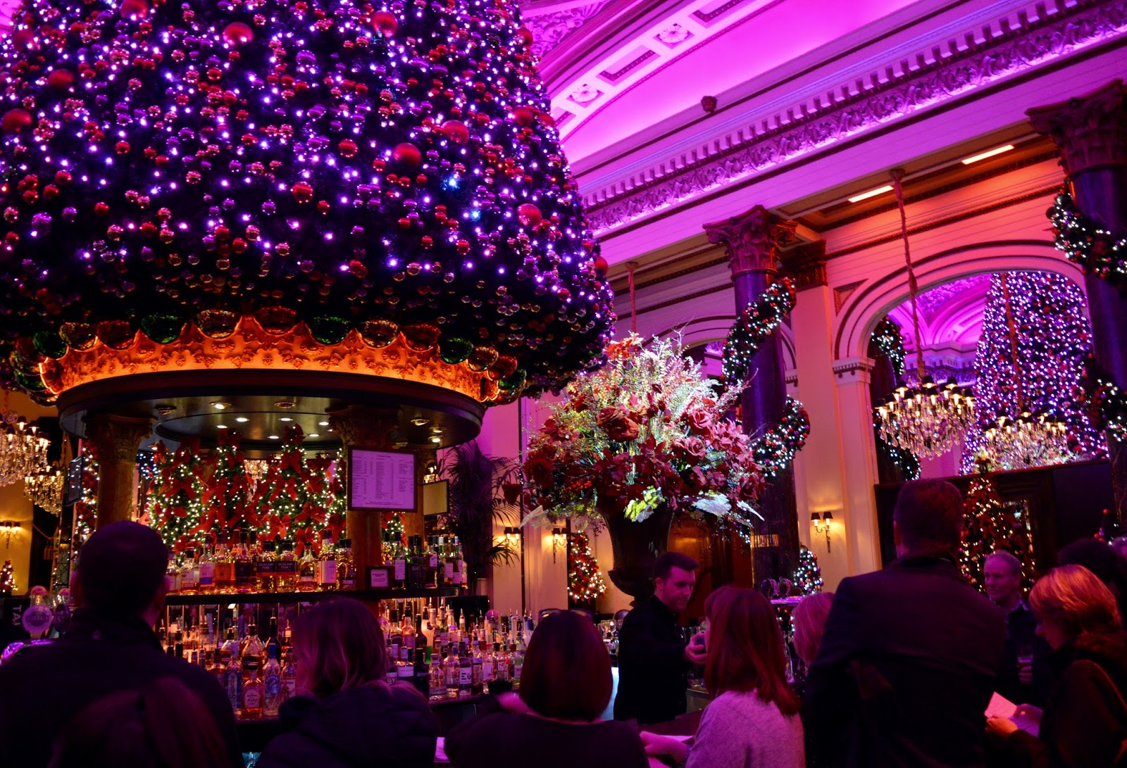 10 Reasons to Visit Edinburgh in December - The Dome Christmas Bar