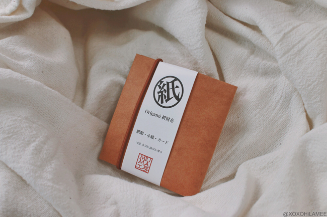 Japanese Fashion Blogger,MizuhoK,2019,New in May and June ,ORIGAMI PAPER WALLET