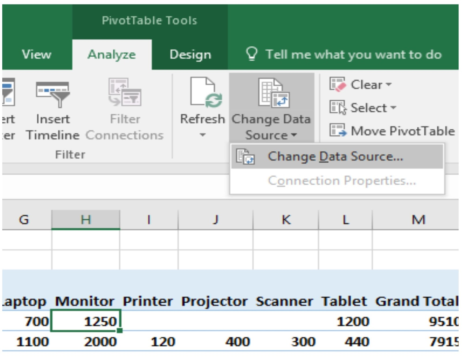Windows And Office Pivot Table