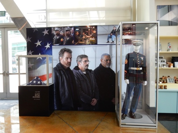 Last Flag Flying movie exhibit