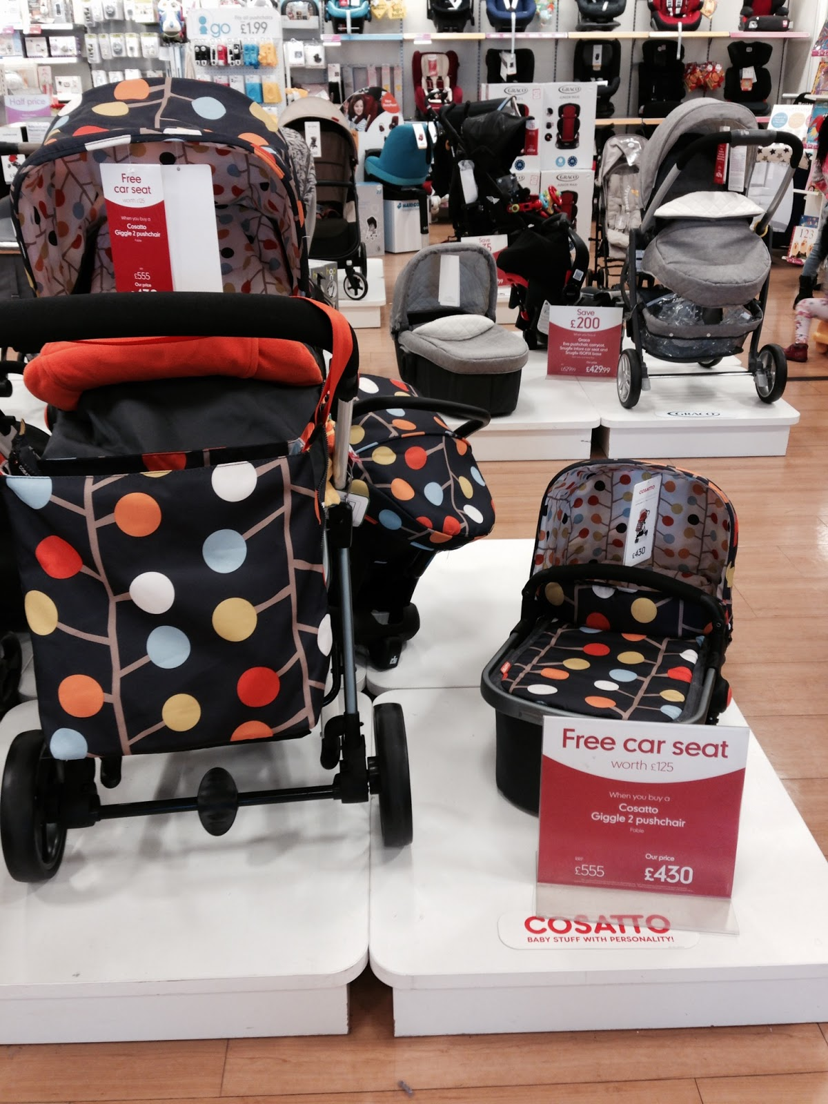 827fa082f1e6 mama lucy  Deal  Cosatto Giggle 2 Pram System on Offer  Mothercare
