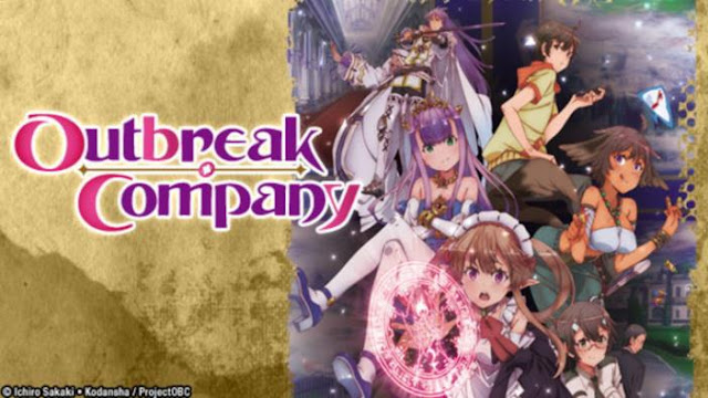 Outbreak Company - Top Isekai Anime (Main Character Trapped in Another World)