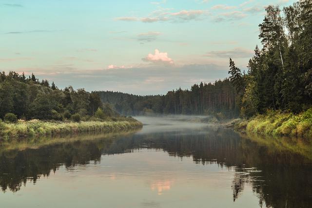 Gauja River, Latvia