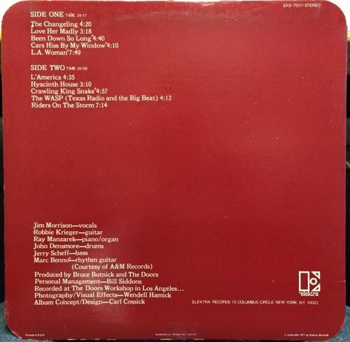 偏愛的収集記-暢気・気儘な箱々 其の参 音楽 : The Doors