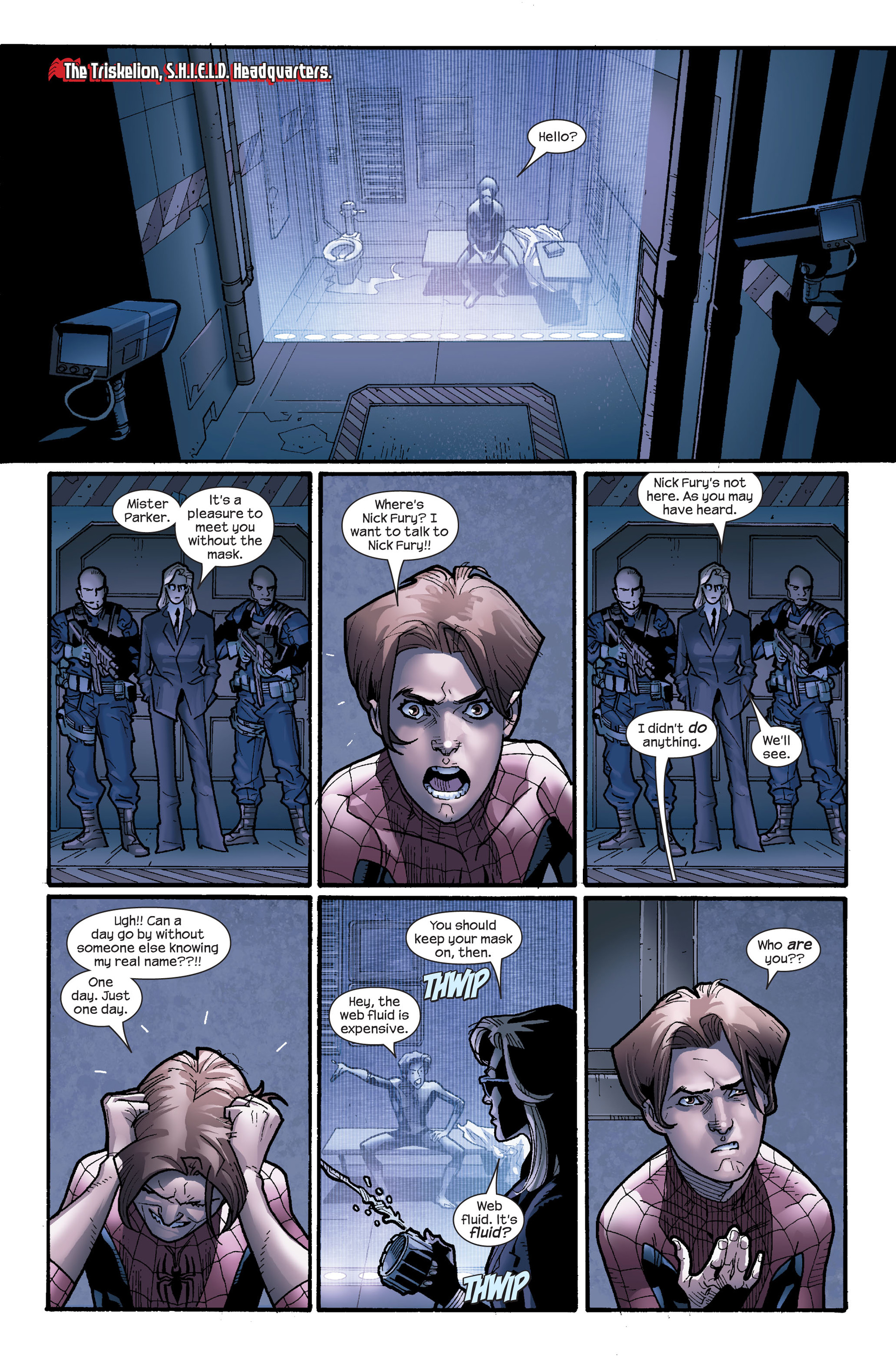 Read online Ultimate Spider-Man (2000) comic -  Issue #115 - 5