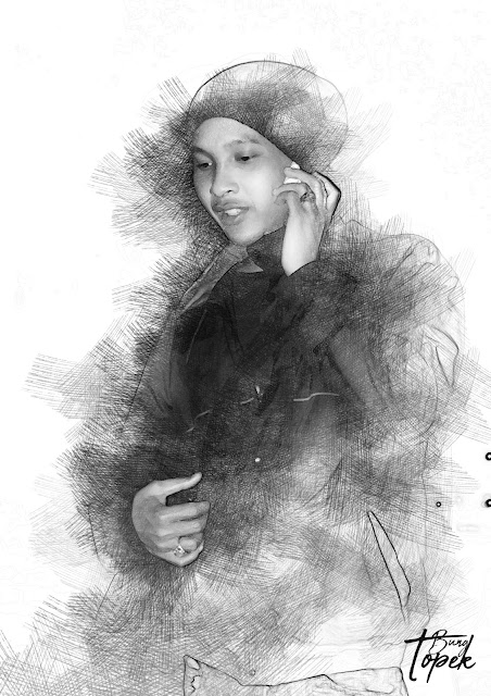 Digital Sketch Bung Topek