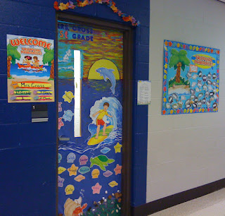 Teaching Happily Ever After Ocean Beach Themed Classroom