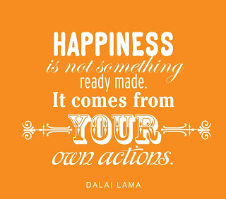 happiness is not something ready made it comes from your own actions - happiness quotes