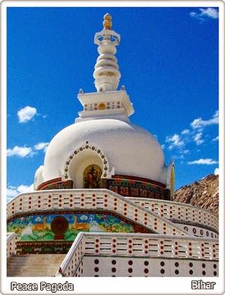 World Peace Pagoda - Vaishali Shanti Stupa Bihar
