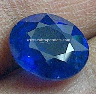 Batu Peramata Royal Blue Saphire - ZP 276