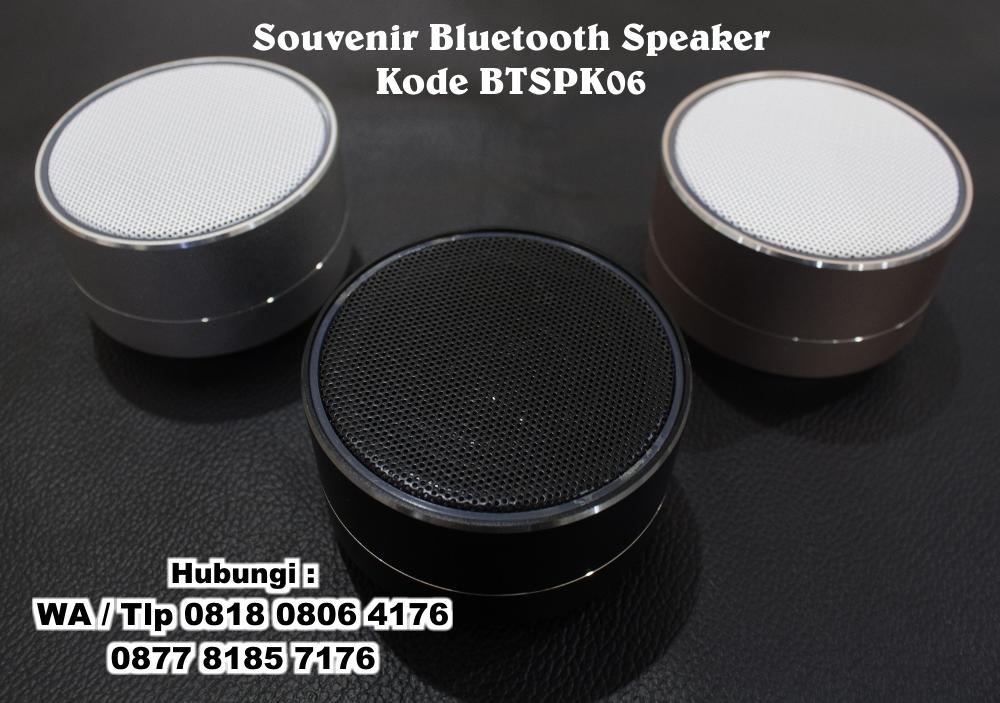 jual souvenir bluetooth speaker bahan alumunium kode