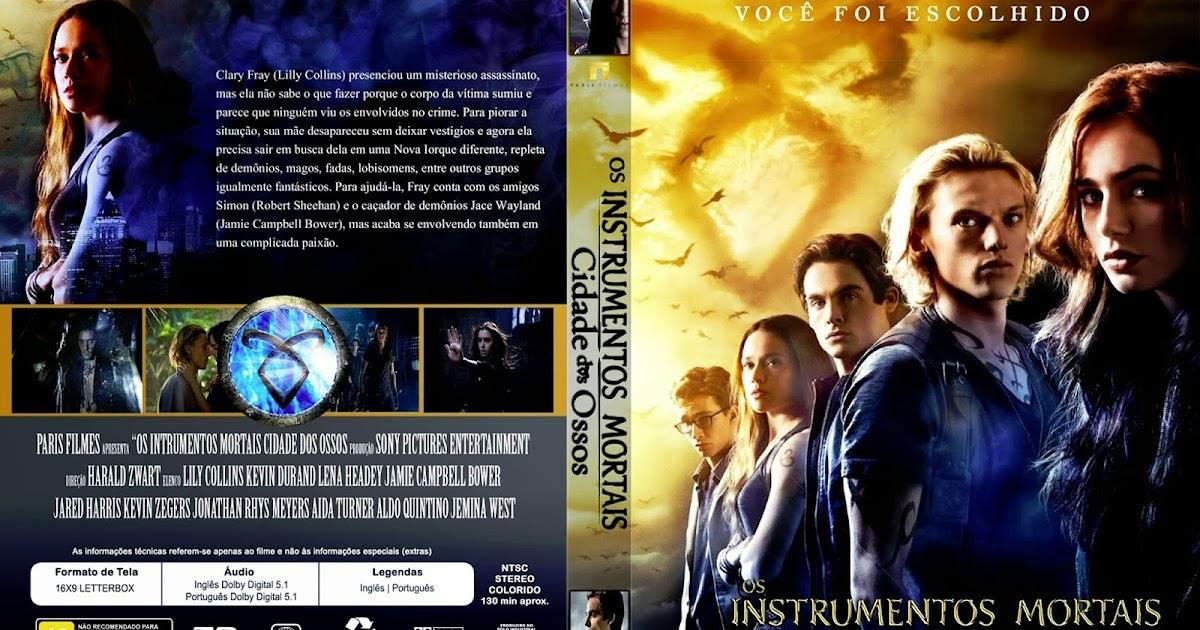 CAPAS DVD VIDEO JP: OS INSTRUMENTOS MORTAIS