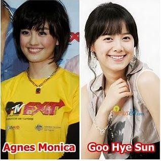 Agnes Monica - Goo Hye Sun