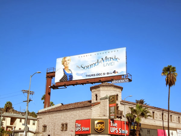 The Sound of Music Live NBC billboard