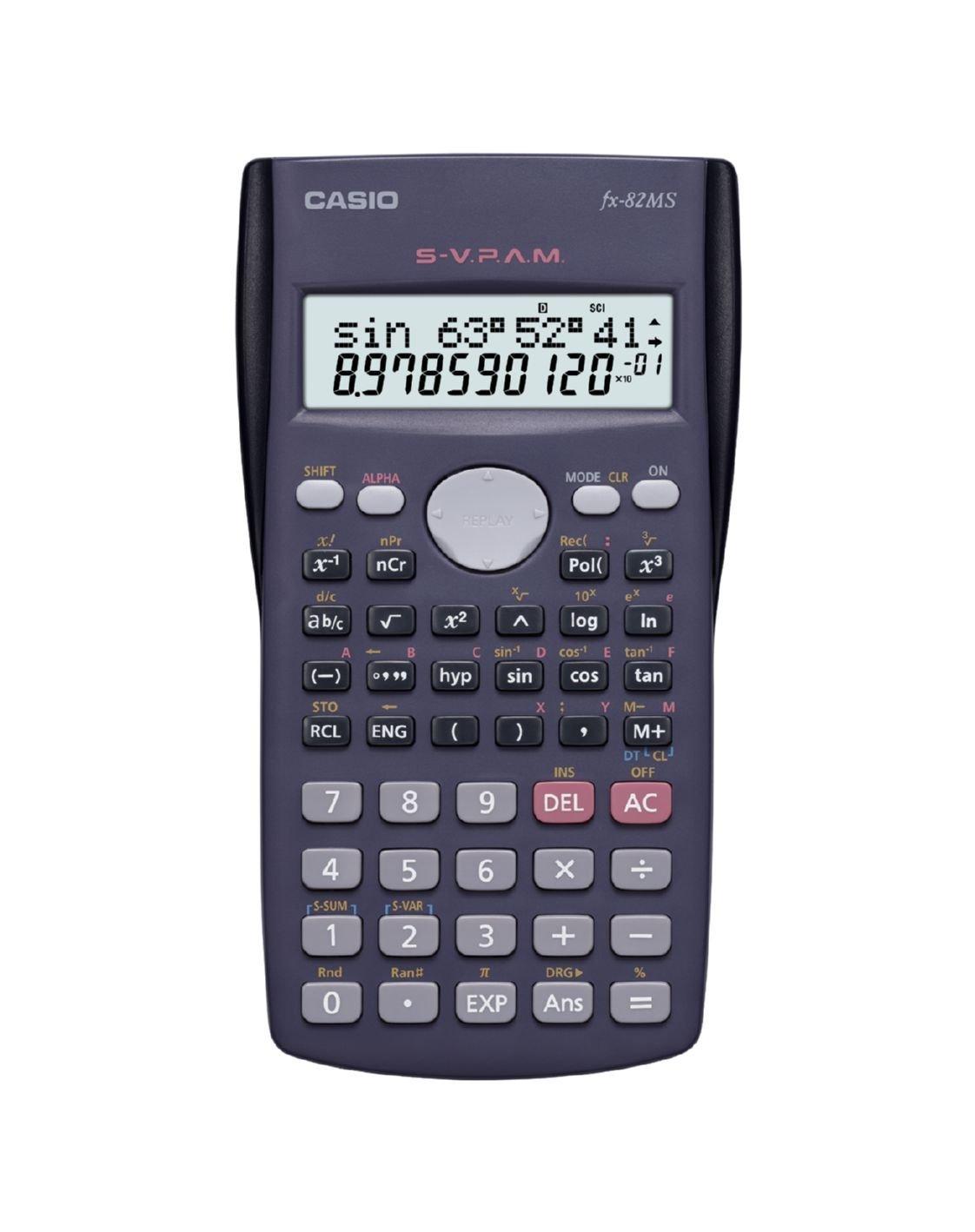 Casio fx-991ms scientific calculator fx 991 ms fx991ms 2 line.