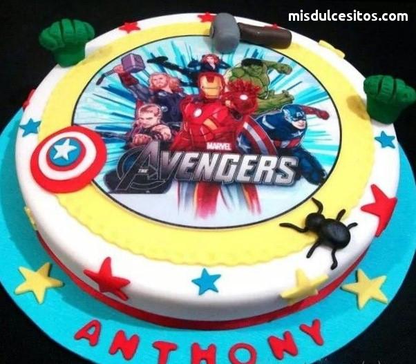 Tortas Avengers. Venta de tortas en Lima