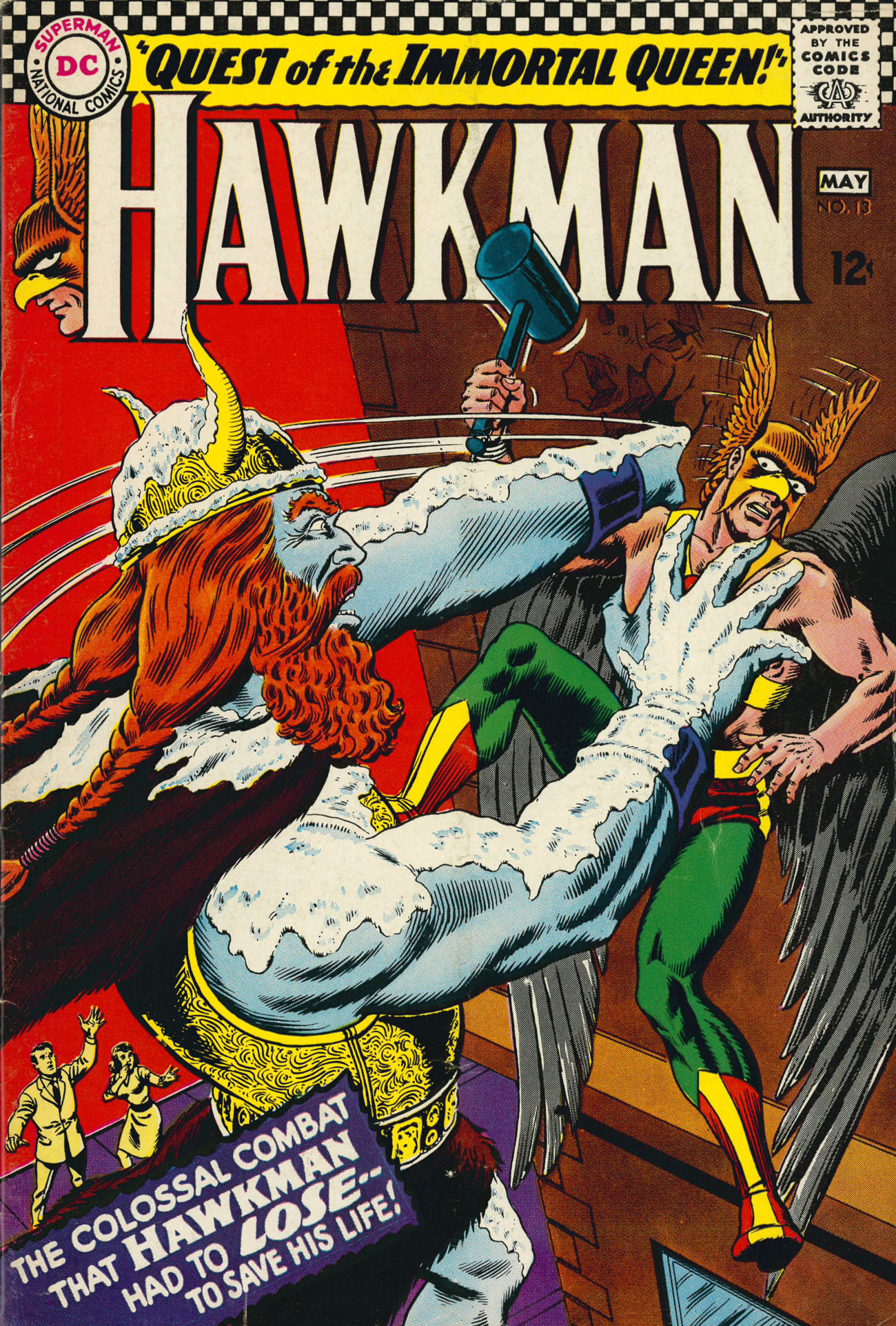 Hawkman (1964) issue 13 - Page 1