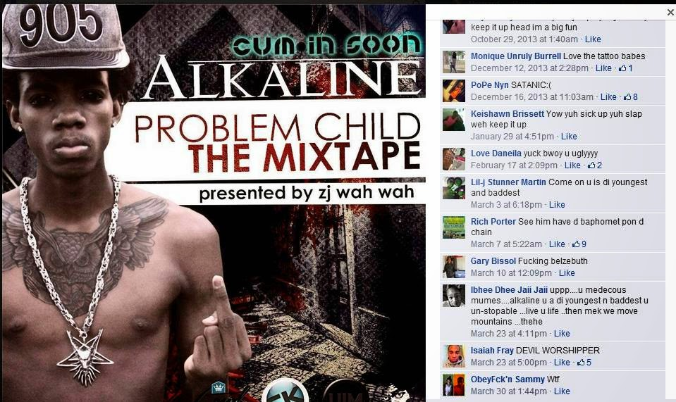 Gay Jamaica Watch: Alkaline (Rimming DJ) gets a homophobic