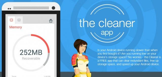 برنامج The Cleaner لتنظيف هواتف الاندرويد وتسريعها