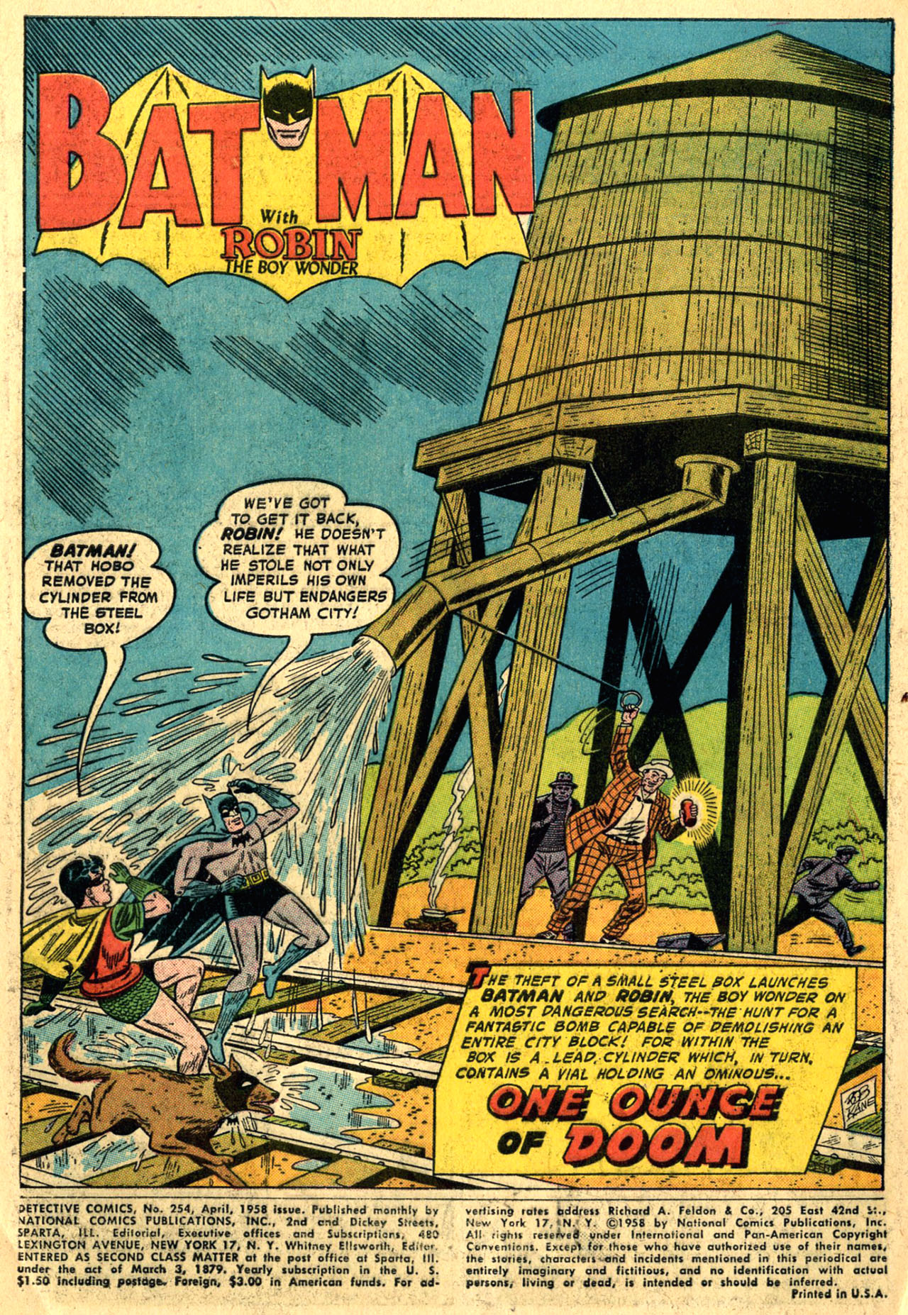 Detective Comics (1937) 254 Page 2