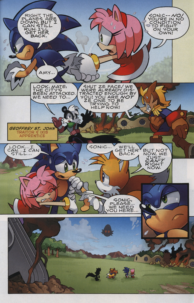 Read online Sonic The Hedgehog comic -  Issue #231 - 21