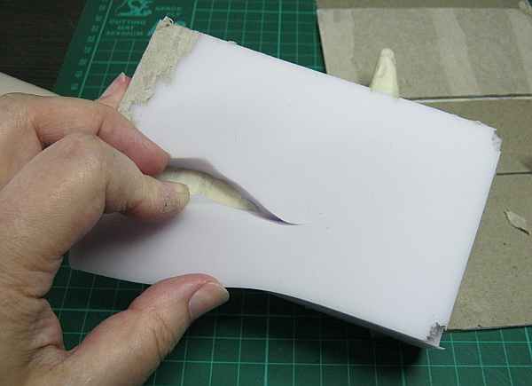 Using silicone rubber for doll shoes