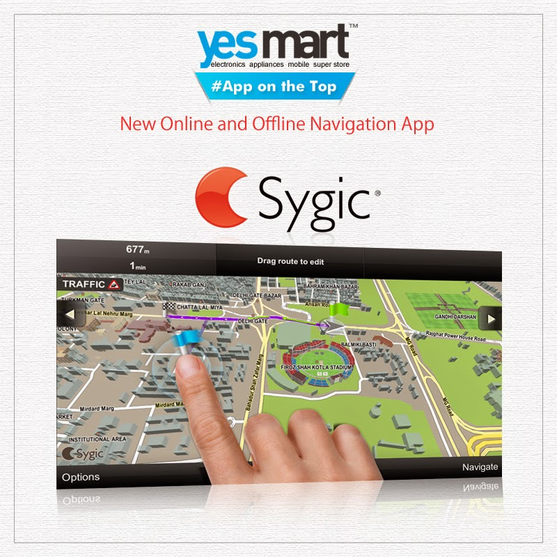 Yesmart: #App on the Top – #Sygic  #GPS Navigation & Maps is