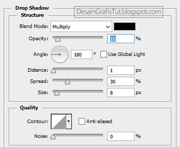 Pengaturan-Drop-Shadow