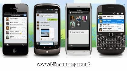 KiK Messenger para Ovi gratis