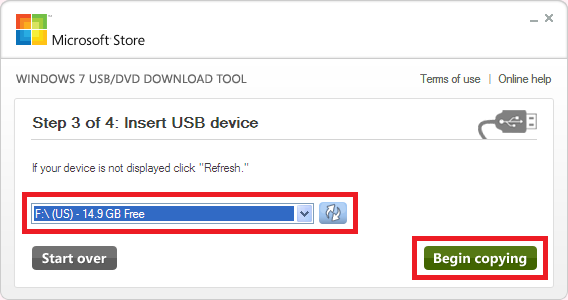 Cara Membuat Bootable OS Flashdisk Dengan Windows USB/DVD Tool