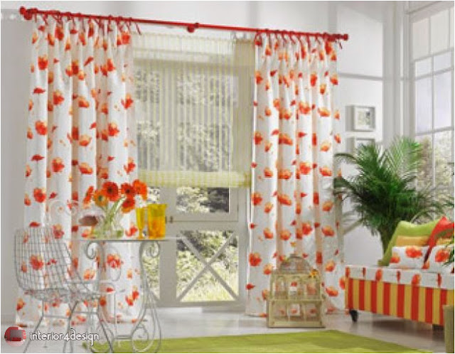 Elegant Kitchen Curtains 12