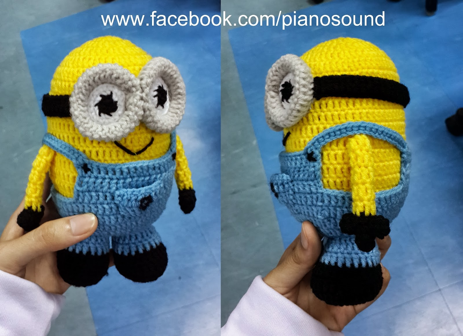 Free Amigurumi Minion : Amigurumipianosound crochet blog: xva free pattern