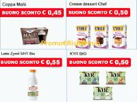 Logo Parmalat buoni sconto da stampare Creme Dessert Chef, KYR, Zymil,Santal, Coppa Malù, Panna Chef