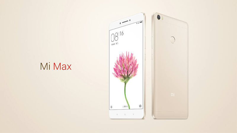 Xiaomi Mi Max Now Official, Comes With Snapdragon 650 or 652 Models