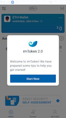 Cara Mudah Membuat Akun Wallet IM Token dari Android dan IOS
