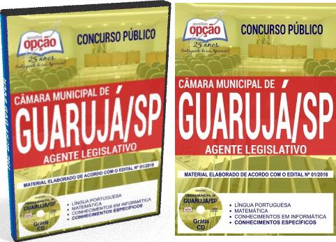Apostila Câmara de Guarujá SP AGENTE LEGISLATIVO